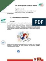 Metrología Unidad II