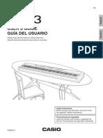 Privia PX-3 Manual