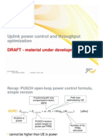 Topcs UL Power Control Optimization