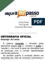 AEP2011 - Portugua¦Çs para Concursos (G&T) - AULA 09 - Ortografia Oficial 1