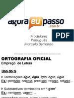 AEP2011 - Portugua¦Çs para Concursos (G&T) - AULA 10 - Ortografia Oficial 2