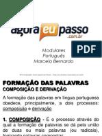 AEP2011 - Portugua¦Çs para Concursos (G&T) - AULA 17 - Morfologia 1 (Formaa¦üÔêåo das Palavras)