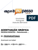 AEP2011 - Portugua¦Çs para Concursos (G&T) - AULA 06 - Acentuaa¦üÔêåo GrÔÇáfica