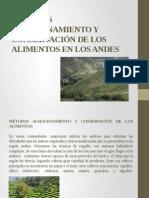 MÉTODOS ALMACENAMIENTO Y CONSERVACIÓN DE LOS ALIMENTOS