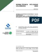 NTC-OHSAS18002