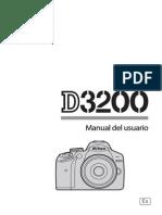 NIKON D3200 MANUAL ESPAÑOL
