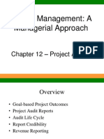 Ch12 Project Auditing