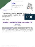 Arduino + Matlab_Simulink_ Controlador PID