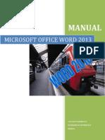 Manual Microsoft Office Word 2013