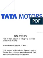 Tata motors case