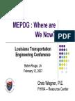 Mechanistic Empirical Pavement Design Guide