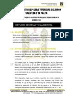Impacto Ambiental Jr Sanpedro Ayacucho