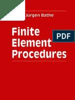 Finite Element Procedures by K.J. Bathe - 1996 PRENTICE HALL