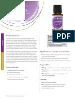 lavender info sheet