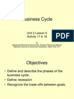 Business Cycle Activity 17 & 18