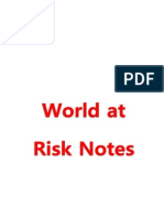 World at Risk Notes
