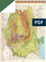 Harta geomorfologica