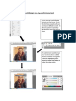 using indesign for my preliminary task