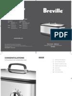 Breville BSC560XL Manual