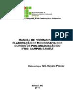 Metodologia de Estudos e Elaboração de Monografia