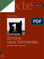 Schöne neue Demokratie - Elemente totaler Herrschaft - Texte RLS copy