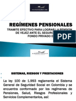 regimenes pensionales