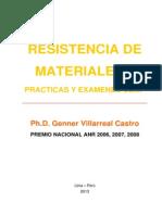 Prácticas y Exámenes USMP,Resistencia de Materiales II