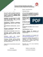 Matricula(Fp) 2014-2015