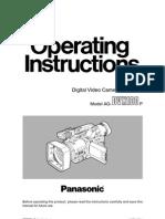 DVX100 manual