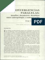 Jorge a Gonzalez - Convergencias Paralelas Pp. 9-37