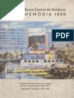 BANCO CENTRAL DE HONDURAS MEMORIA DE 1990.pdf