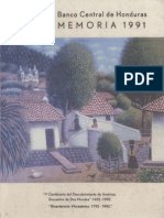 BANCO CENTRAL DE HONDURAS MEMORIA DE 1991.pdf