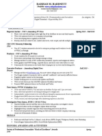 Raishad Hardnett - Resume (appears below)