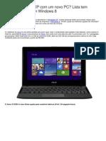Vai Dar Adeus Ao XP Com Um Novo PC