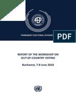 Report Bucharest OCV Workshop 2010