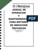 MANUAL DE OPERACION Y MANTENIMIENTO PARA MOTORES DE INDUCCION TRIFASICO.pdf