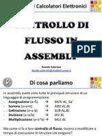 Controllo di flusso in Assembly
