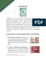 Anestesia Informe Final