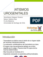 Traumatismos urogenitales