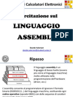 Introduzione al linguaggio Assembly