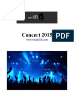 Concert 2015 | for Music Lovers