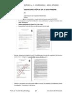 Documento Informativo sobre el Proceso de Recuperación
