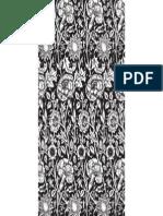 FreeVector Black Flower Background