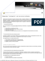 NOSSO Electropartes, Regulador inteligente o de funciones múltiples