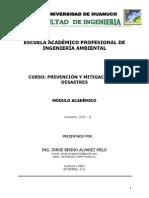 Modulo Prev. y Mitig. de Desastres.unidad1