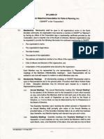 GWAPP 2001 by-laws