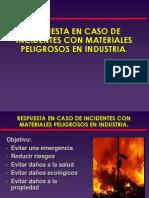 Primera Respuesta a Incidentes Con Materiales Peligrosos