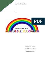 Curcubeul Culorilor -Scoala Altfel