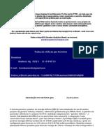 Plano técnico de construção do Gerador Quântico de energia elétrica Português-BR