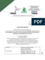 Caiet de Sarcini Pentru Achizitie Publica Servicii Juridice